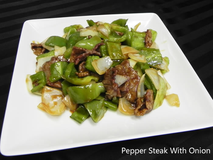 Pepper Steak W. Onion